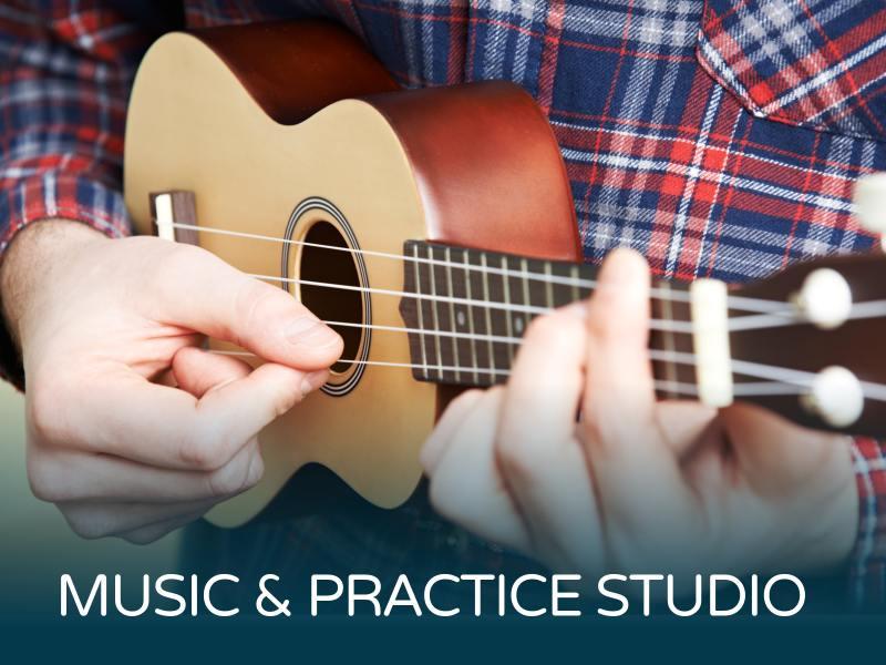 MUSIC & PRACTICE STUDIO